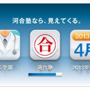 河合塾・交通広告考案企画制作